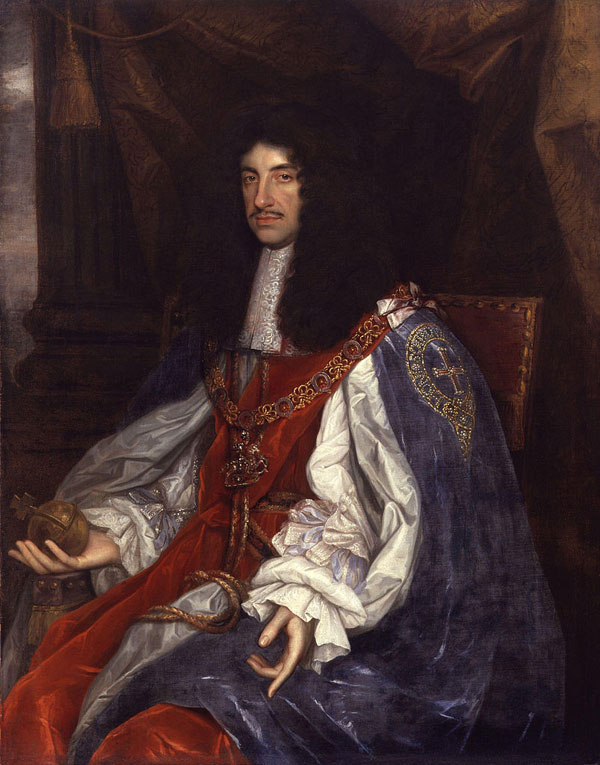 Portrait of King Charles II by John Michael Wright